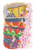 四季の草花 桃
