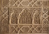 グラナダ アルハンブラ宮殿 大理石の装飾