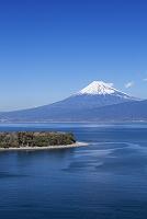 静岡県 大瀬崎と富士山