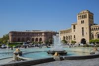 アルメニア エレヴァン 郵便局とマリオットホテル