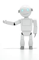 案内をするロボット CG