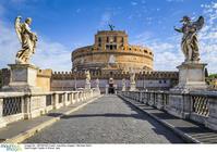 イタリア ローマ サンタンジェロ城とサンタンジェロ橋