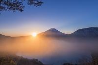 山梨県 身延町 富士山