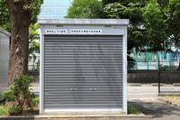 静岡市上下水道局の耐震性貯水槽給水栓収納庫