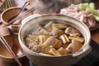 豚バラ肉のねぎま鍋
