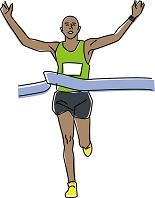 陸上競技 マラソン ゴール