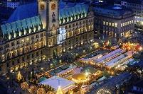 ドイツ ハンブルグ クリスマスマーケット
