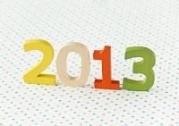 ポップな2013年イメージ