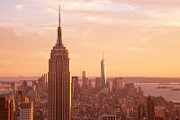 アメリカ合衆国 ニューヨーク ロックフェラーセンターから見た...