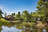 福島県 御薬園 楽寿亭と御茶屋御殿