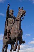和歌山県 ムスタファ・ケマル・アタテュルク騎馬像