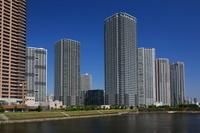 東京都 東雲のタワーマンション群