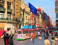 上海 南京路歩行街