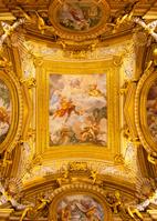 イタリア フィレンツェ パラティーナ美術館の天井画
