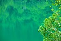 群馬県 片品村 菅沼の湖面