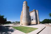 ウズベキスタン シャフリサブス アクサライ宮殿