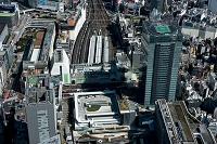 東京都 バスタ新宿と新宿駅 ミライナタワー周辺