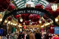イギリス ロンドン コベントガーデン クリスマスマーケット