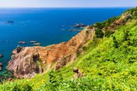 秋田県 男鹿半島 日本海