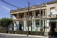 キューバ 柱廊のある家