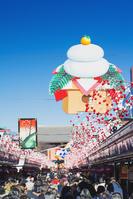 東京都 浅草 年末の仲見世