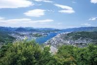 広島県 浄土寺山展望台から望む尾道水道
