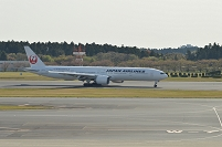 千葉県 成田空港 JAL鶴のマーク