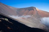 富士山の宝永火口