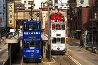 中国 香港 香港島 トラム