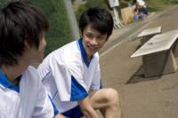 ユニフォームを着た学生