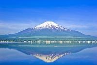 山梨県 富士山と山中湖