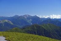 岐阜県 大黒岳から北アルプス 乗鞍岳