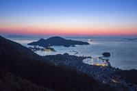 広島県 朝の鞆の浦