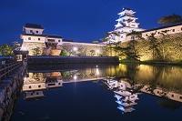 愛媛県 今治城夜景