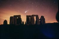 イギリス ヘール・ボップ彗星