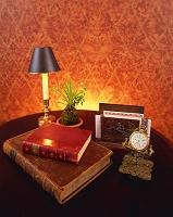 古書と時計