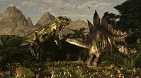 トルヴォサウルスとステゴサウルス