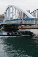 東京 築地大橋とホタルナ