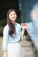 若い日本人女性