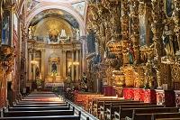 メキシコ ケレタロ サンタクララ教会 内部