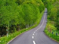 北海道 峠への道