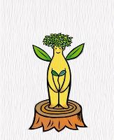 イラスト 「木の精」