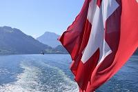 湖船船尾国旗