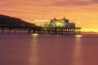 アメリカ カリフォルニア マリブ桟橋