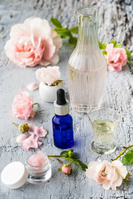 化粧品のボトル