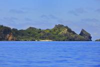東京都 小笠原諸島 父島 観光船から望むジョンビーチ