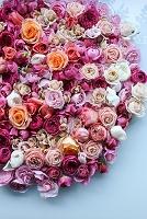 たくさんのバラのコラージュ