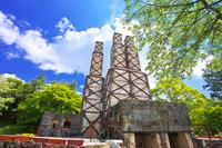 静岡県 新緑の韮山反射炉