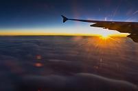 機中より雲 フランクフルト~成田 LH-0710