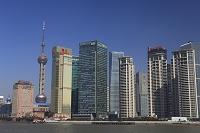 中国・上海 浦東高層ビル群